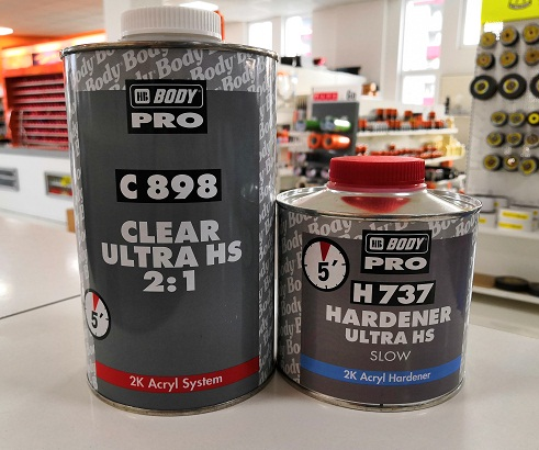 Body C898 Lak Ultra HS 2:1, 1L + Herter H737 spori, 500ml, set