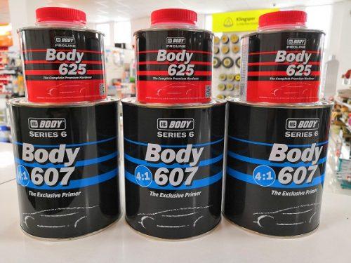 Body Series 6 607 4:1 UHS Exclusive prajmer - sivi, 800ml + Herter Premium 625, 220ml, set