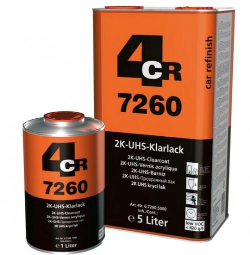 4CR 7260 2K UHS-Bezbojni lak 2:1 VOC, 5L