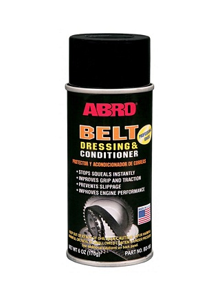 Abro Belt Dressing & Conditioner - Sprej za zaštitu i učvršćivanje remena, 170gr