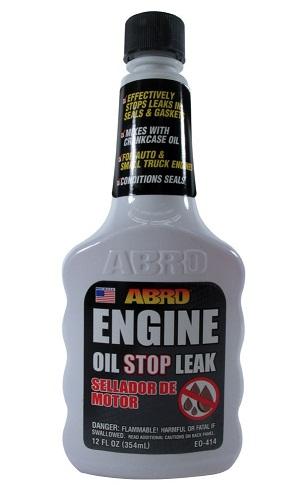 Abro Engine Oil Stop Leak - Aditiv za sprečavanje curenja motornog ulja, 354ml