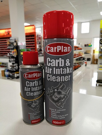 CarPlan Carb & Air Intake Cleaner - Čistač karburatora u spreju