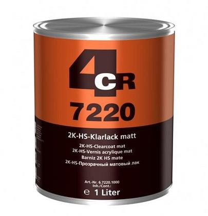 4CR 7220 2K HS - Bezbojni lak, mat