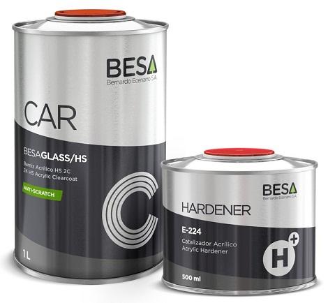 Besa CAR Glass HS 2K Bezbojni lak otporan na ogrebotine