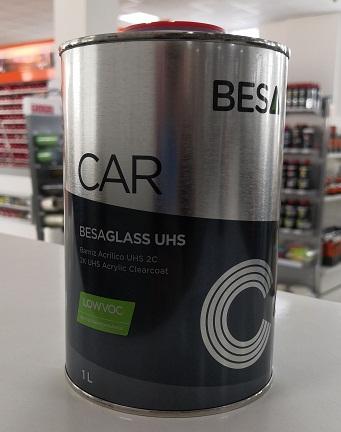Besa CAR Glass UHS 2K Akrilni bezbojni lak (LOW VOC)