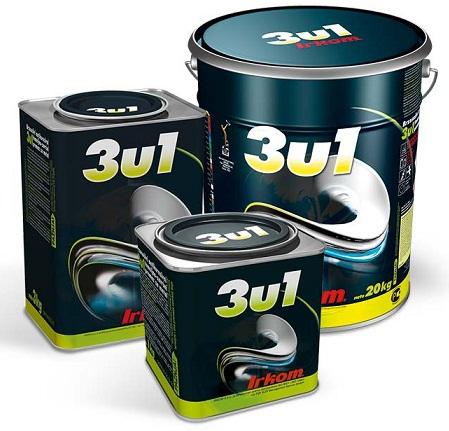 Irkom 3u1 - Antirost+Temeljna boja+Završna boja, 1Kg