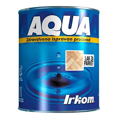 Irkom Aqua Transparentni lak za parket - Zdravstveno ispravan proizvod, 0.75L