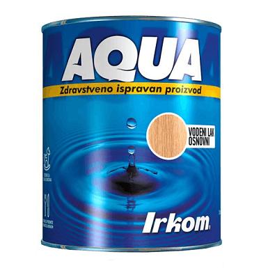 Irkom Aqua Vodeni transparentni lak, osnovni - Zdravstveno ispravan proizvod, 0.75L