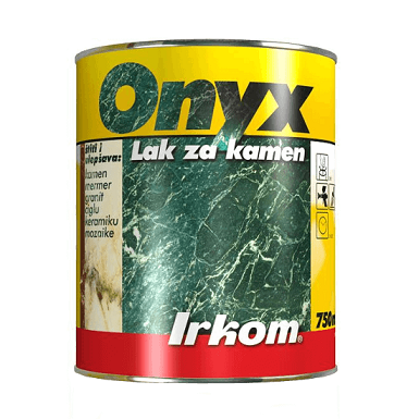 Irkom Onyx Lak za kamen, 750ml