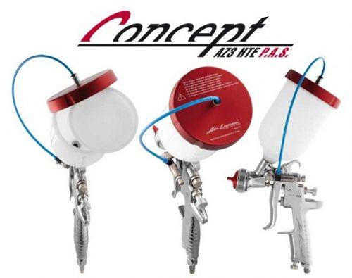 Anest Iwata Concept AZ3 HTE P.A.S. Pištolj za farbanje sa sistemom potpomognutim pritiskom_2