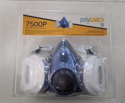 PolyGARD 7500P Polu-maska za zaštitu respiratornih organa, komplet