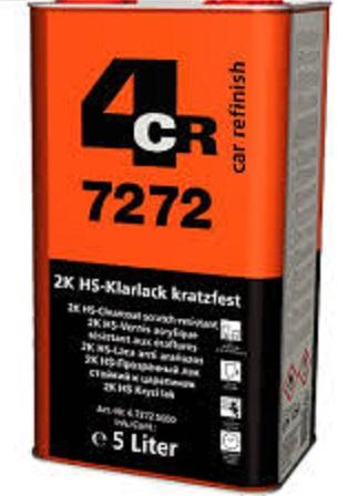 4CR 7272 2K HS Prozirni lak, 5L