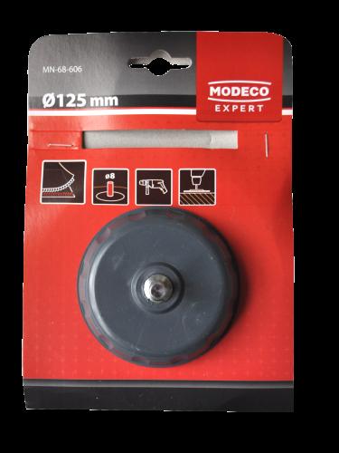 Modeco Expert Nosač filca za brušenje i poliranje, 125mm (sa spojnicom za bušilicu)_2