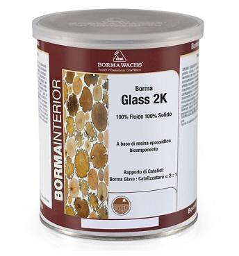 Borma Wachs Glass 2K - Akrilna smola za razlivanje