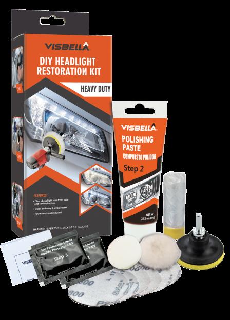 Visbella 0870 Diy Headlight restoration kit Hevy Duty - Set za reparaciju farova