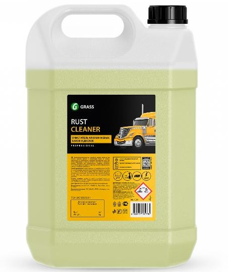 Grass 110391 Rust Cleaner - Deterdžent za čišćenje alumnijumskih felni i rezervoara, 5.5Kg
