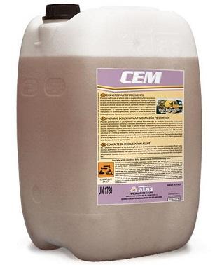 Atas CEM - Sredstvo za pranje cementa i cementnog mleka, 10Kg