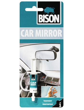 Bison Car Mirror - Lepak za unutrašnji retrovizor automobila, 2ml