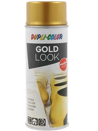 """MoTip Dupli-Color Gold Look - Akrilni lak sa efektom """"Zlatnih listića"""", 400ml"""