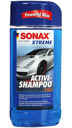 Sonax 214200 Aktivni šampon 2u1, 500ml