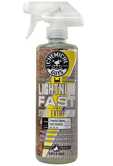 Chemical Guys Lightning Fast Stain Extractor - Esktra brzi čistač tapacirunga i tkanina, 473ml (SPI_191_16)